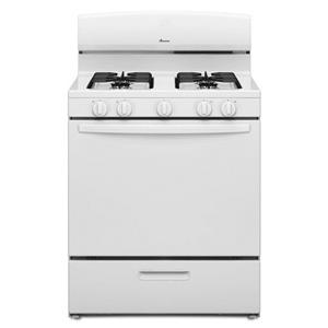 Amana Gas Ranges 5.1 cu. ft. Gas Oven Range with Sealed Gas B