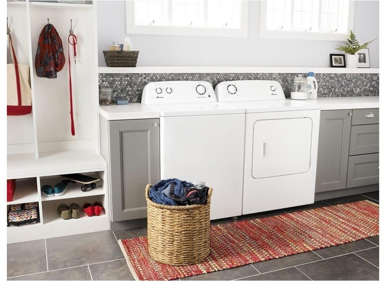 Washer and Dryer Sets TOP LOAD WASHER AND ELECTRIC DRYER SET by Amana at Furniture and ApplianceMart
