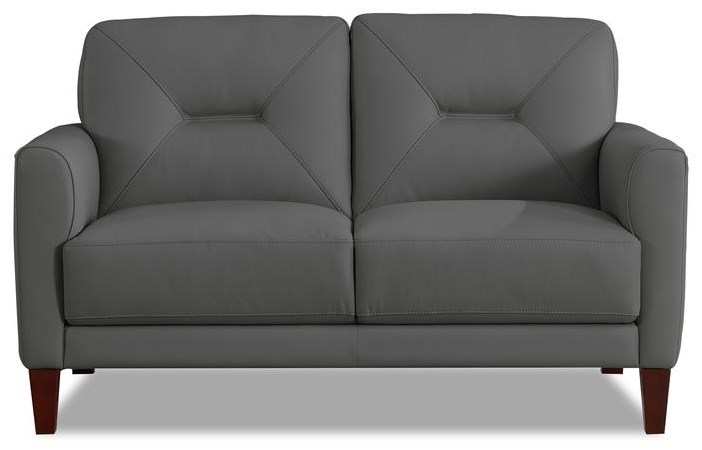 Clooney Leather Loveseat at Bennett's Furniture and Mattresses