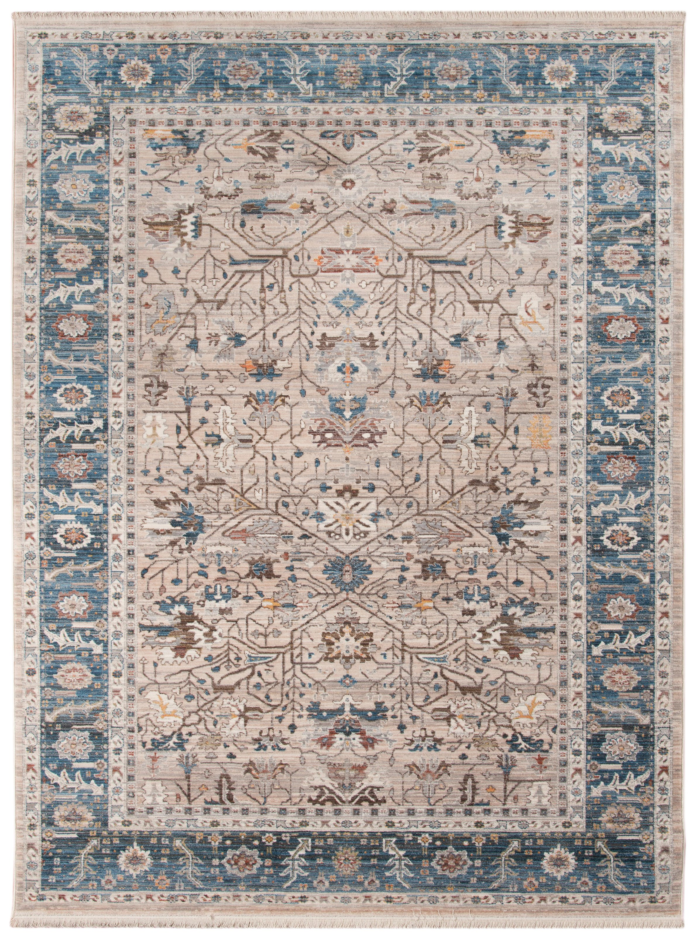 Arcadia Beige Navy Transitional by Amer Rugs at Sprintz Furniture