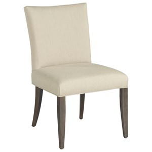 Benton Side Chair with Upholstered Seat