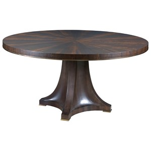 Camby Round Pedestal Dining Table