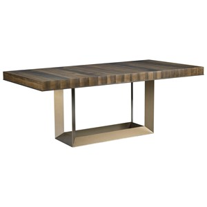"Bandon Rectangular Dining Table with Two 20"" Leaves"