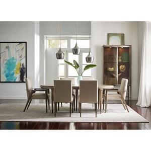Mid-Century Modern Formal Dining Room Group