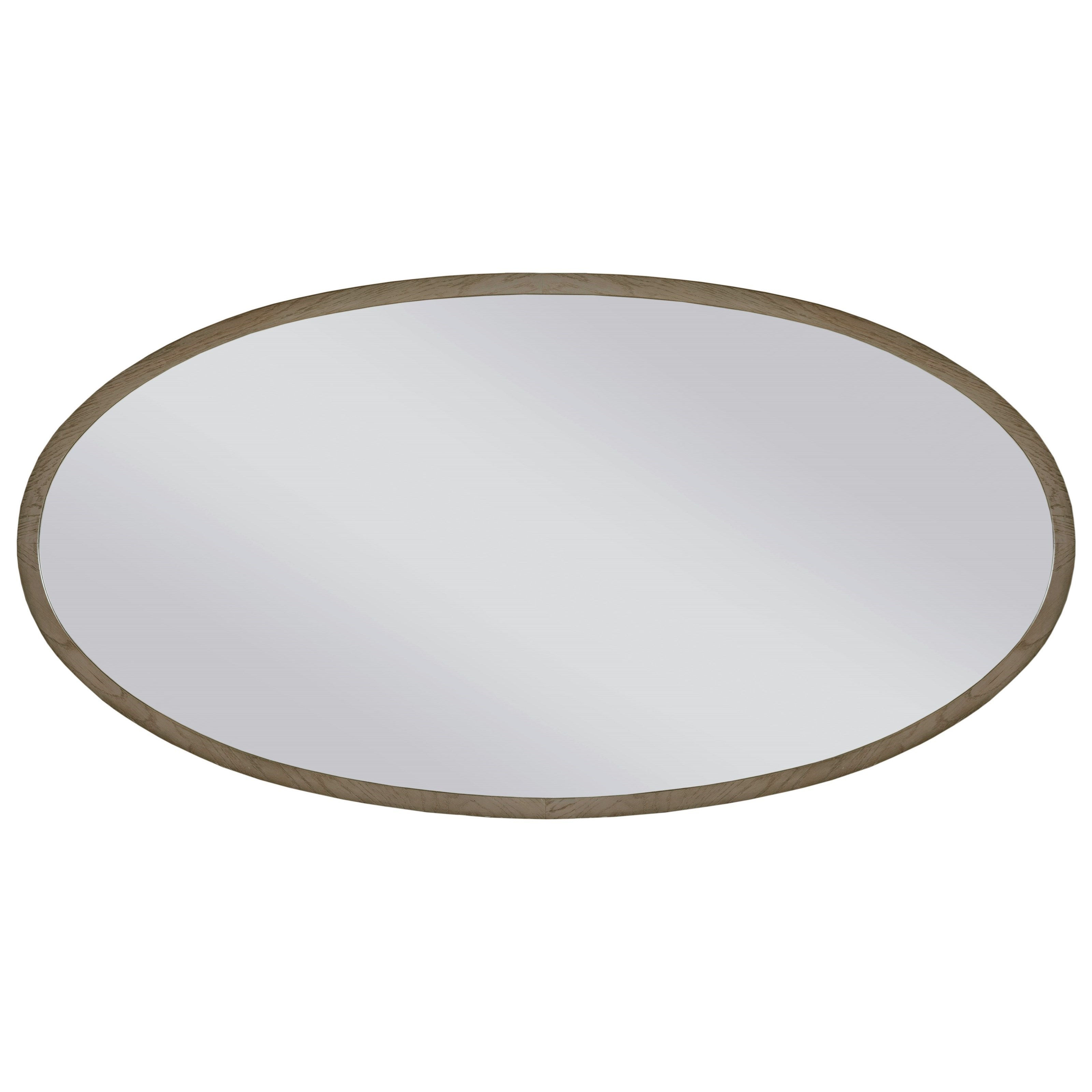 Ad Modern Classics Ramsey Oval Mirror by Living Trends at Sprintz Furniture