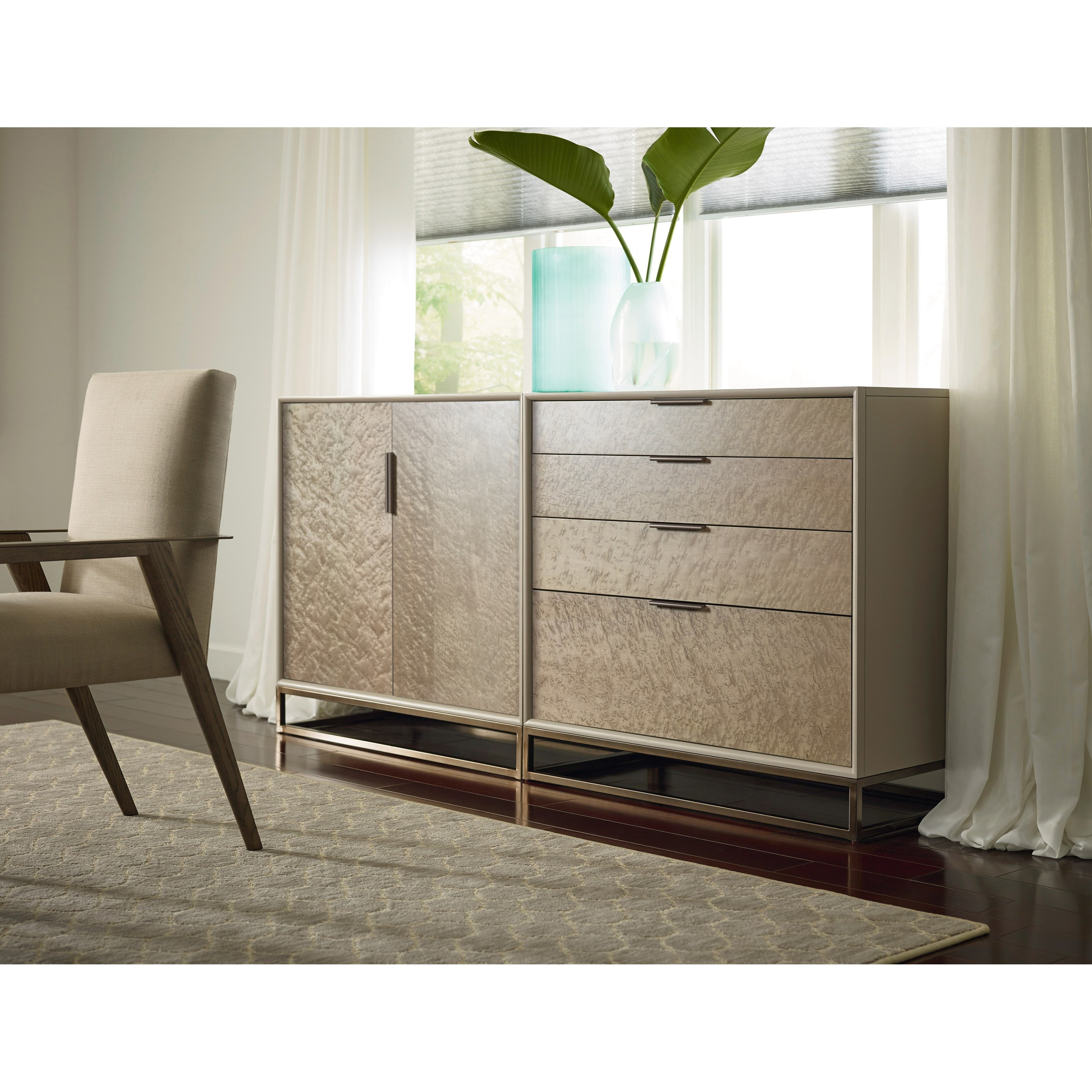Ad Modern Classics Dining Buffet by American Drew at Value City Furniture