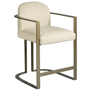 Gates Counter Stool with Upholstered Seat