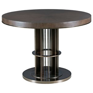 Lindsey Adjustable Height Table with Round Top