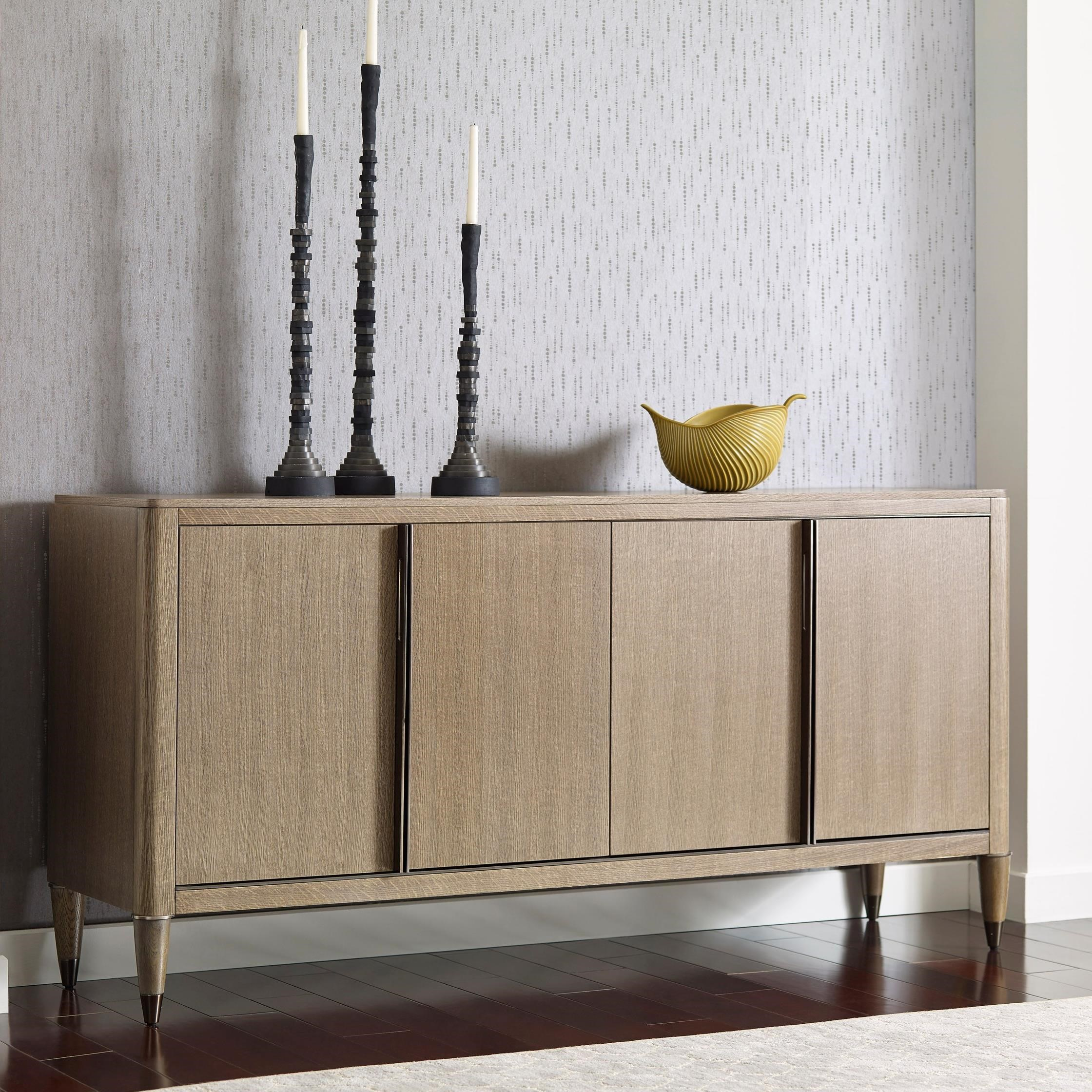 Ad Modern Classics Darby Credenza by American Drew at Alison Craig Home Furnishings