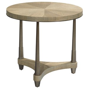 Dover Road Lamp Table with Round Top