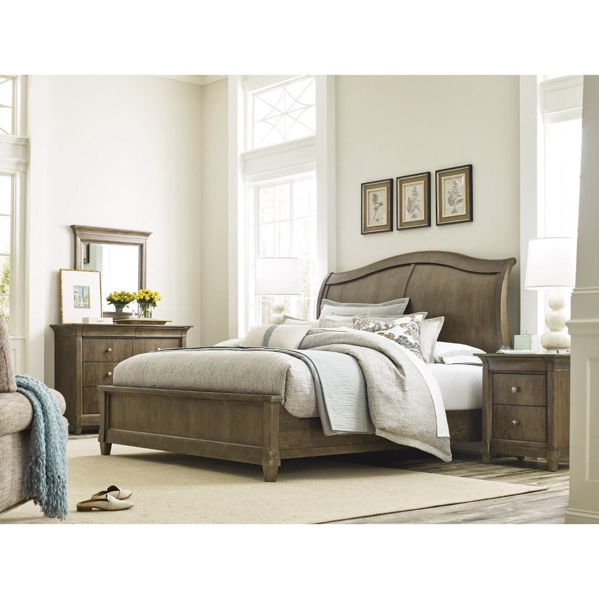 Anson California King Bedroom Group by American Drew at Northeast Factory Direct