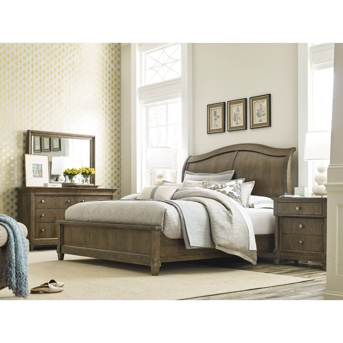 Anson King Bedroom Group by American Drew at Alison Craig Home Furnishings