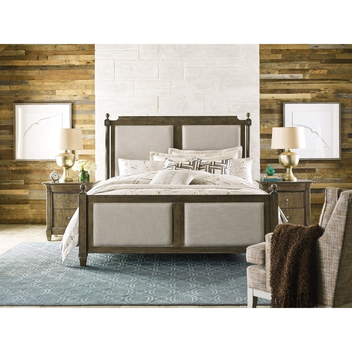 Anson Queen Bedroom Group by Living Trends at Sprintz Furniture