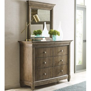 Chantilly 8-Drawer Dresser & Mirror Set