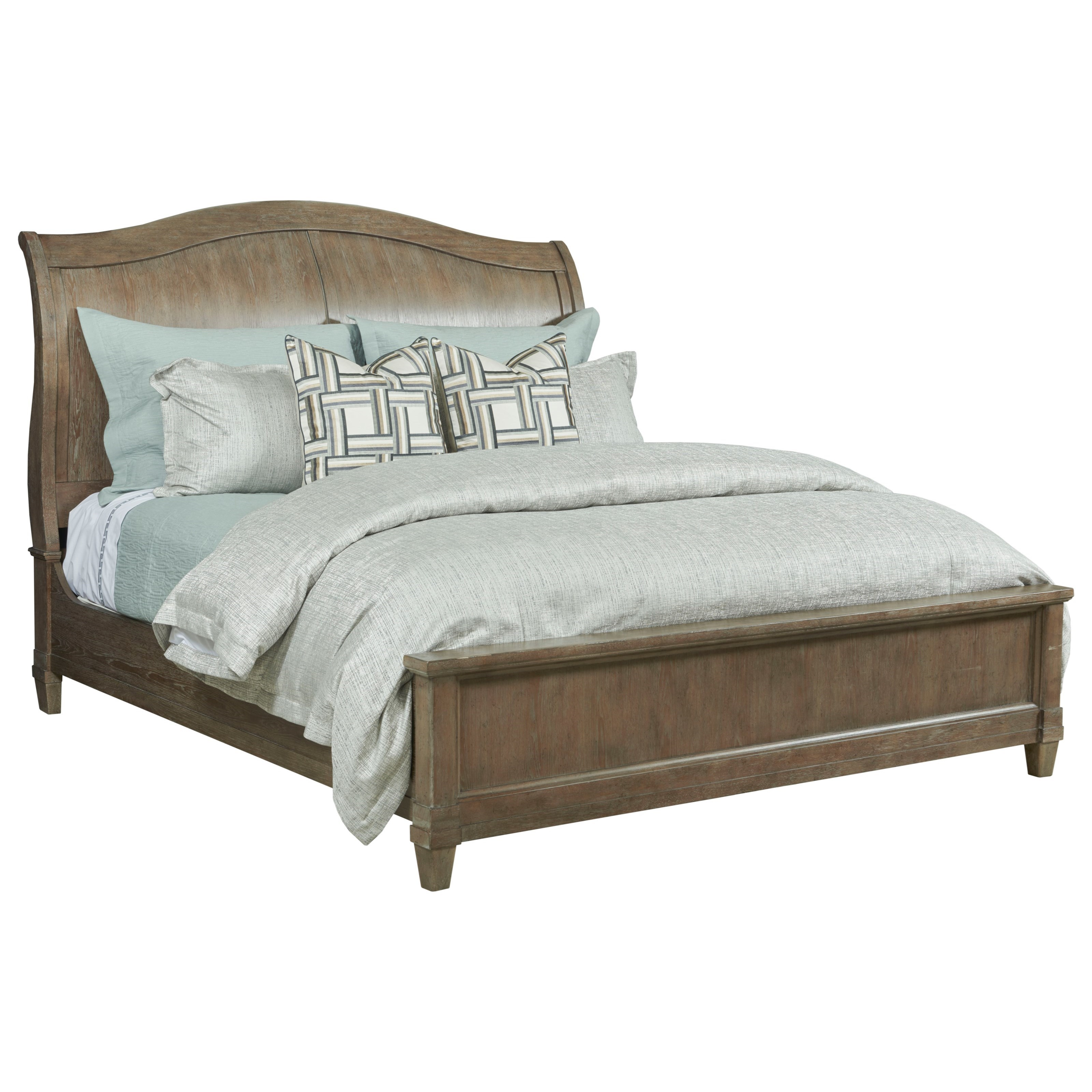 Anson Queen Sleigh Bed by American Drew at Northeast Factory Direct