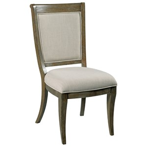Whitby Side Chair with Upholstered Seat