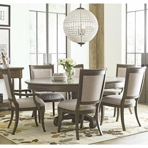 Seven Piece Dining Set with Buxton Table