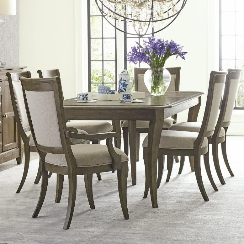 Anson 7 Pc Dining Set by American Drew at Alison Craig Home Furnishings