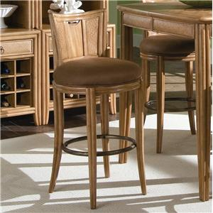 American Drew Antigua Round Bar Height  Stool