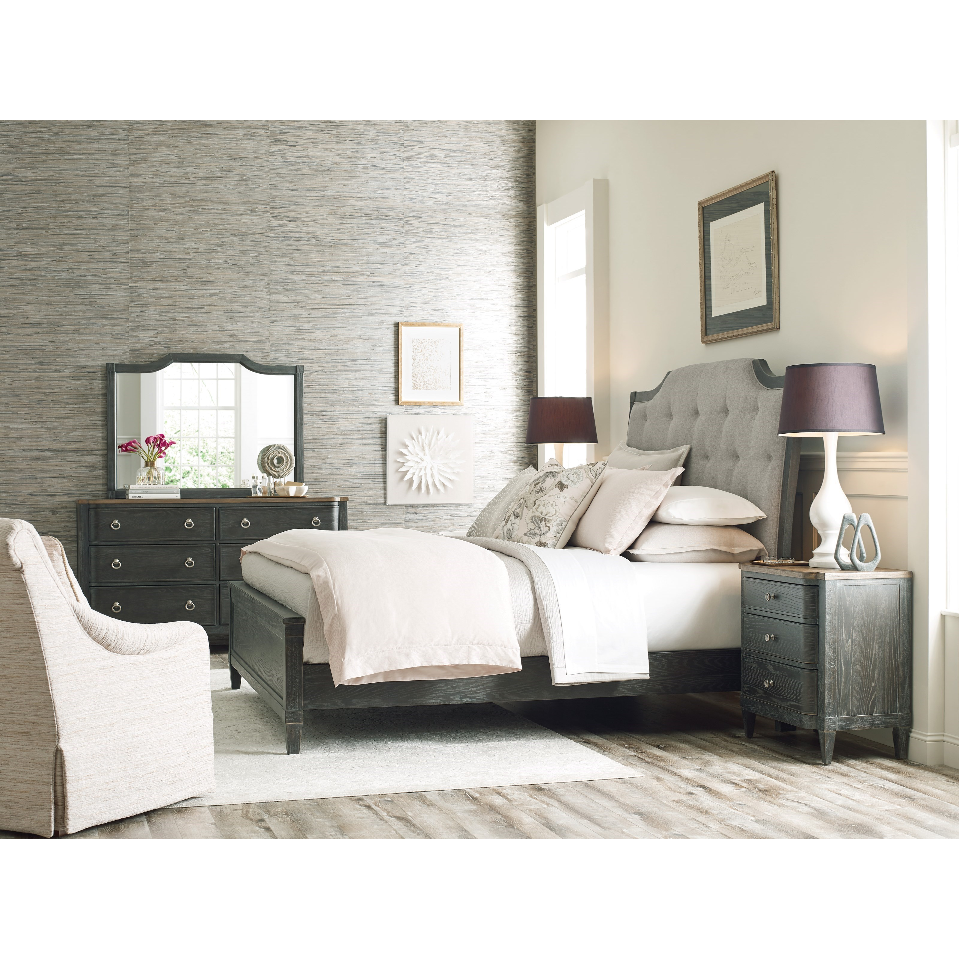 Ardennes Queen Bedroom Group  by American Drew at Northeast Factory Direct