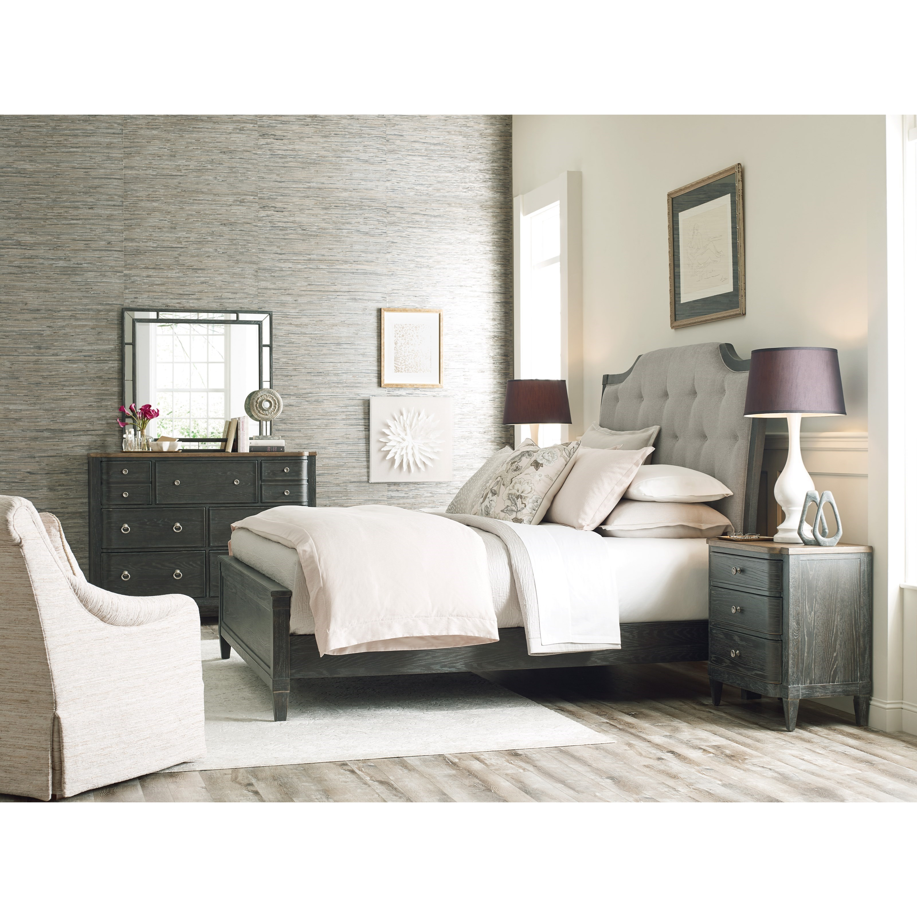 Ardennes King Bedroom Group by American Drew at Mueller Furniture
