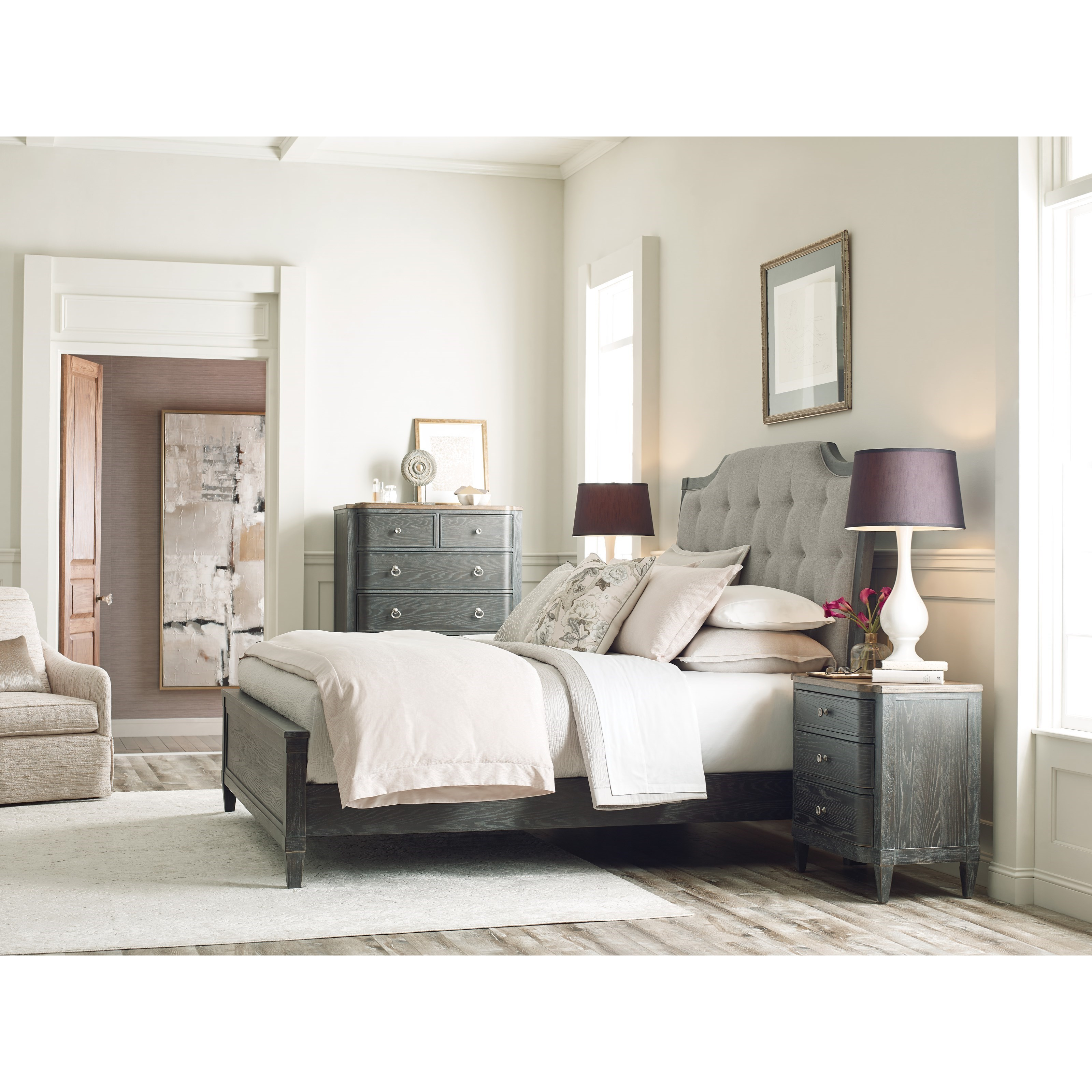 Ardennes King Bedroom Group by American Drew at Northeast Factory Direct