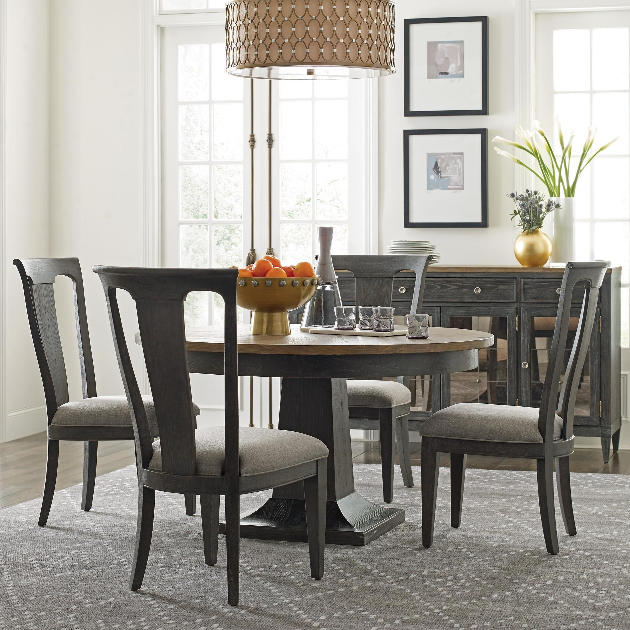 Ardennes Dining Table and Chair Set  by American Drew at Mueller Furniture