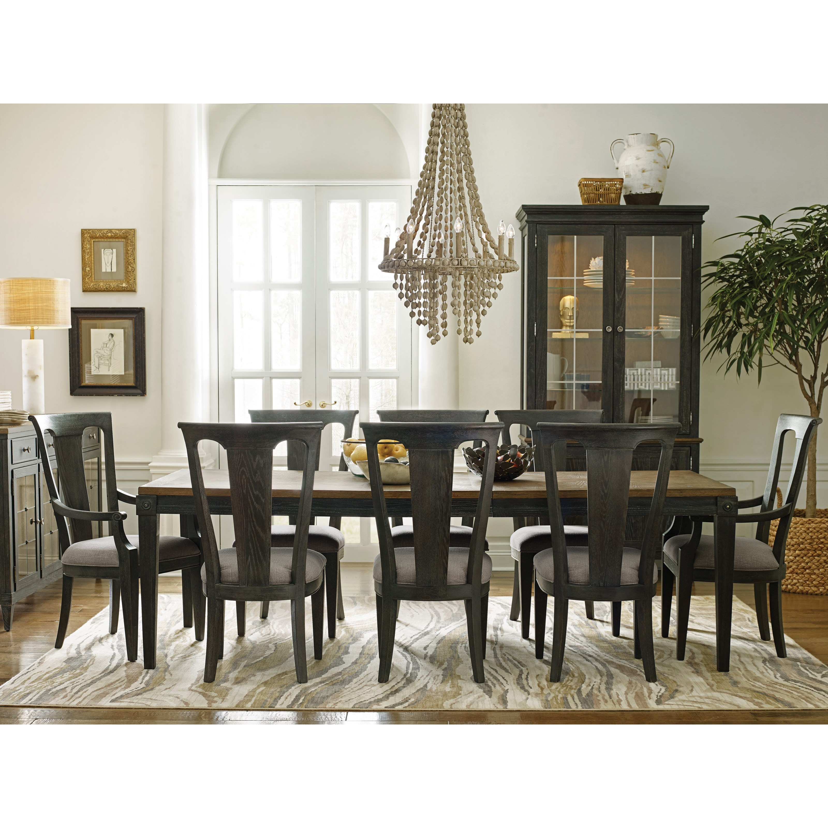 Ardennes Dining Table and Chair Set  by American Drew at Alison Craig Home Furnishings