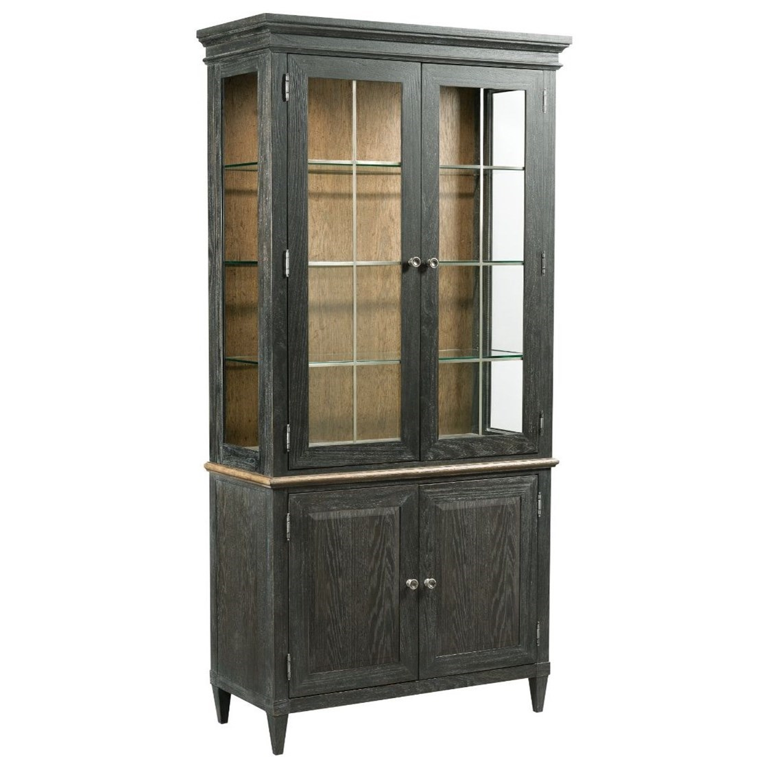 Ardennes Liege China Cabinet by American Drew at Alison Craig Home Furnishings