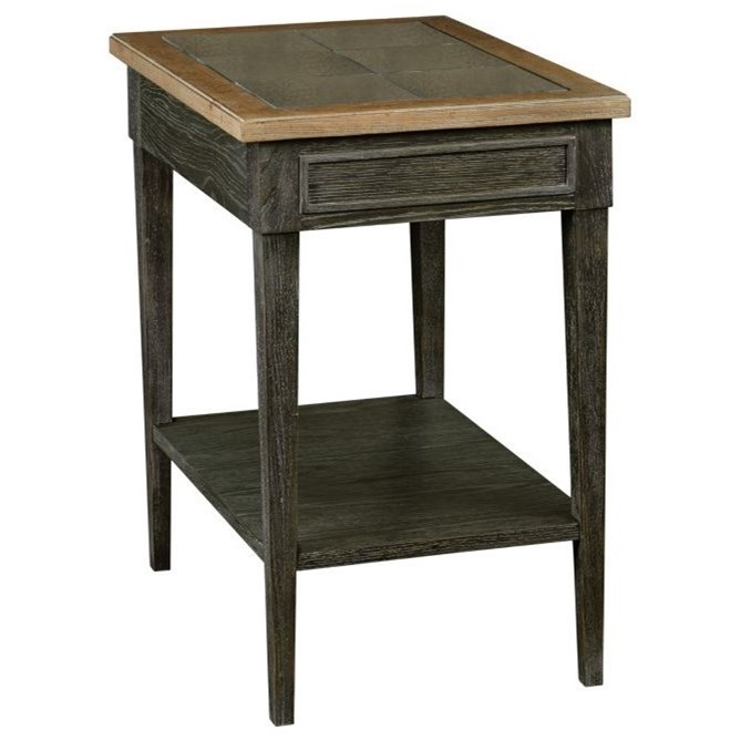 Ardennes Sabine Chairside Table by American Drew at Alison Craig Home Furnishings