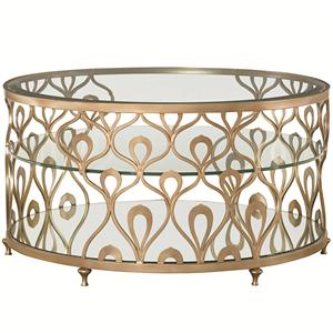 American Drew Bob Mackie Home Cocktail Table
