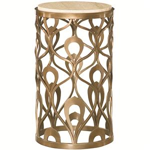 American Drew Bob Mackie Home Round End Table