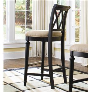 American Drew Camden - Dark Bar Stool Bar Height