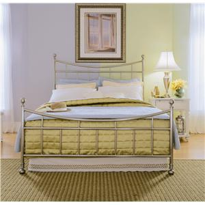 American Drew Camden - Light Full Metal Bed