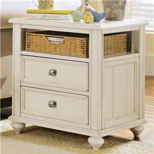 American Drew Camden - Light Side Table