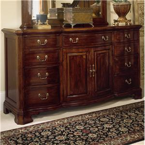 American Drew Cherry Grove 45th Door Triple Dresser