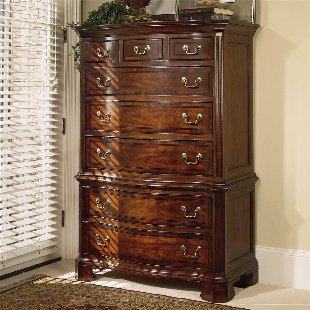 Cherry Grove 45th Chest On Chest by American Drew at Stuckey Furniture