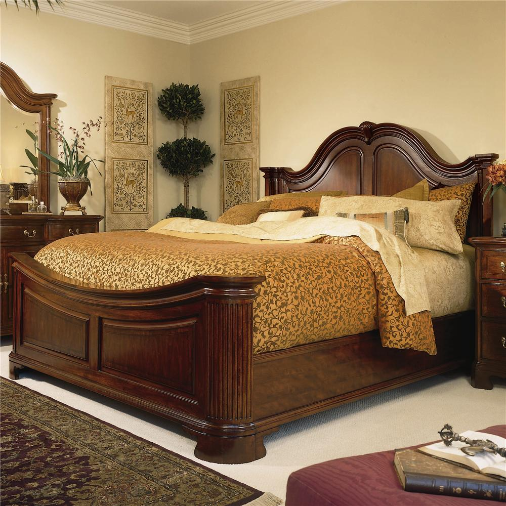Cherry Grove 45th Queen Mansion Bed by American Drew at Mueller Furniture