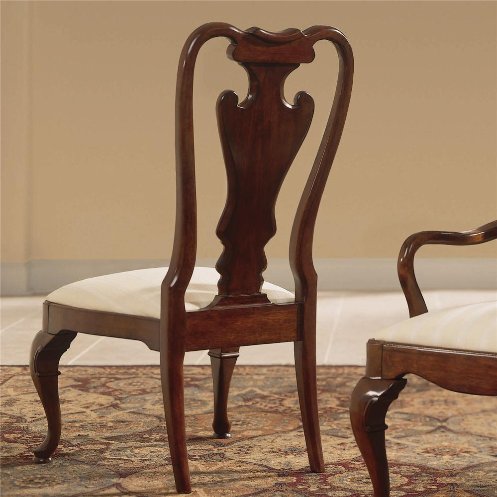 Cherry Grove 45th Splat Back Side Chair by American Drew at Northeast Factory Direct