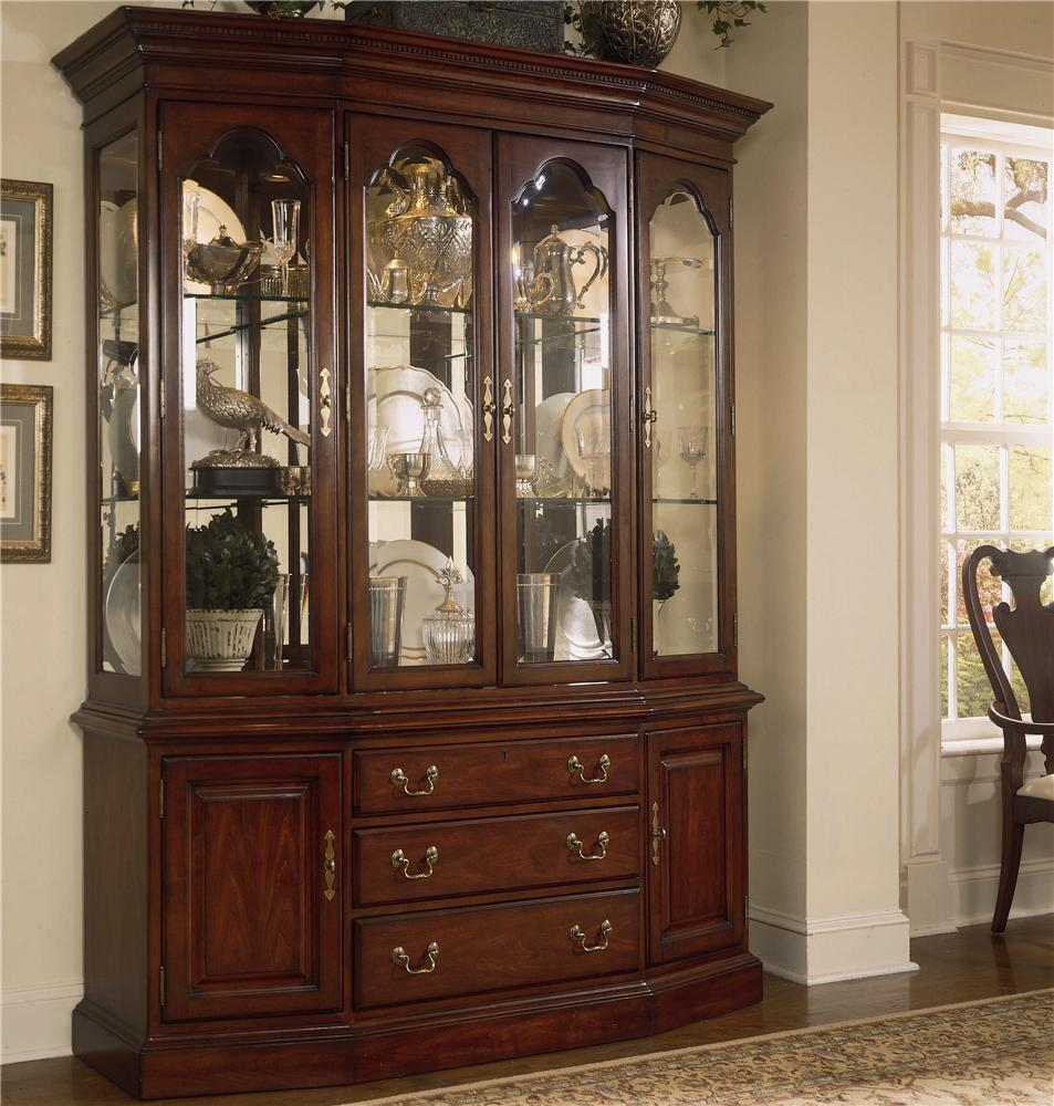 Cherry Grove 45th Canted China Cabinet by American Drew at Stoney Creek Furniture