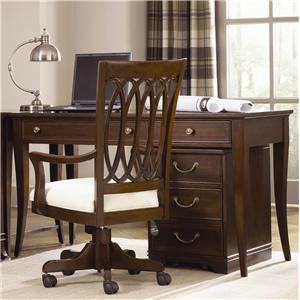 American Drew Cherry Grove Home Office Desk