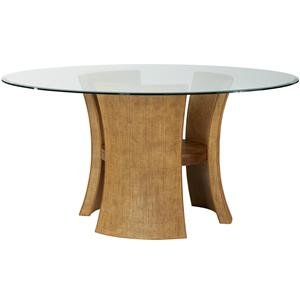 American Drew Grove Point Round Pedestal Dining Table