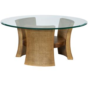 American Drew Grove Point Round Cocktail Table