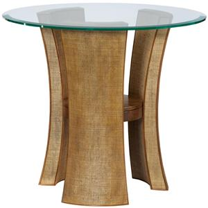 American Drew Grove Point Round End Table