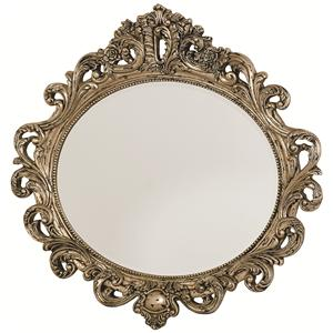 American Drew Jessica McClintock Home - The Boutique Collection Oval Decorative Mirror
