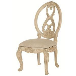American Drew Jessica McClintock Home - The Boutique Collection Splat Back Side Chair