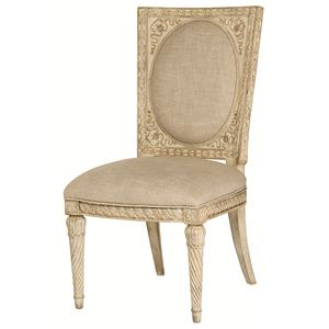 American Drew Jessica McClintock Home - The Boutique Collection Cane Back Accent Chair