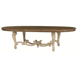American Drew Jessica McClintock Home - The Boutique Collection Oval Dining Table