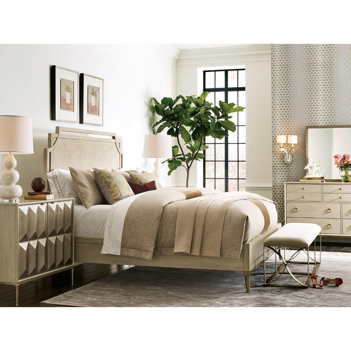 Lenox California King Bedroom Group by American Drew at Alison Craig Home Furnishings