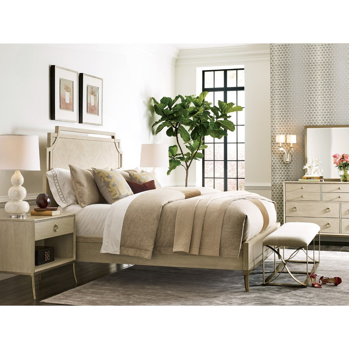 Lenox King Bedroom Group by American Drew at Stoney Creek Furniture